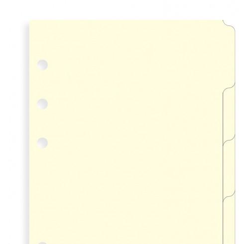 Розділювачі універсальні Filofax, А5, кремові