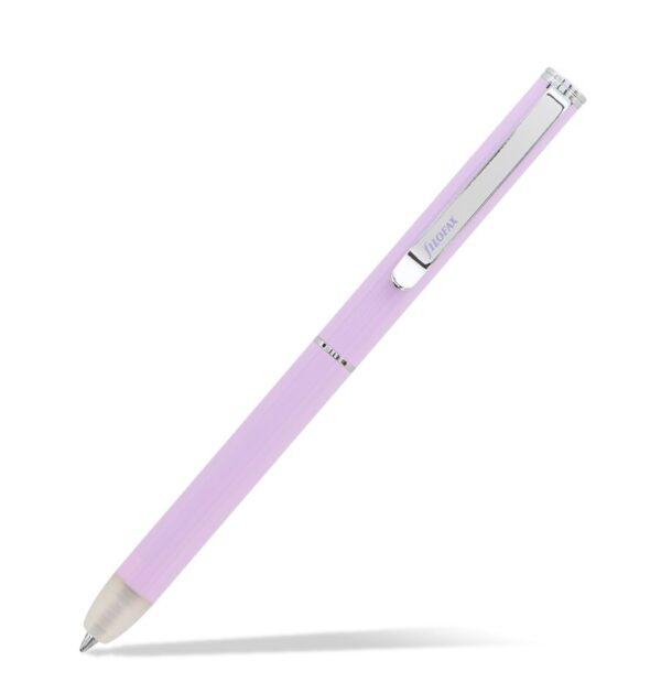 Кулькова ручка, що стирається, Filofax Clipbook Ballpen, Orchid