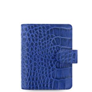 Органайзер Filofax Classic Croc Pocket, Indigo