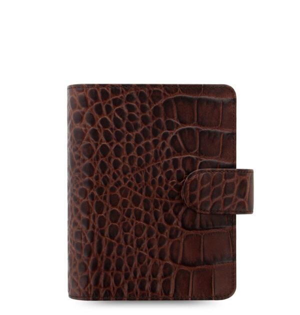 Органайзер Filofax Classic Croc Pocket, Chestnut