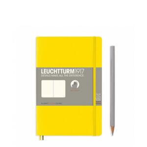 Блокнот Leuchtturm1917 Paperback (B6), М'яка обкладинка, Лимонний, Чисті аркуші