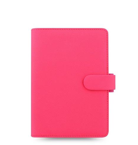 Органайзер Filofax Saffiano Personal, Fluoro Pink