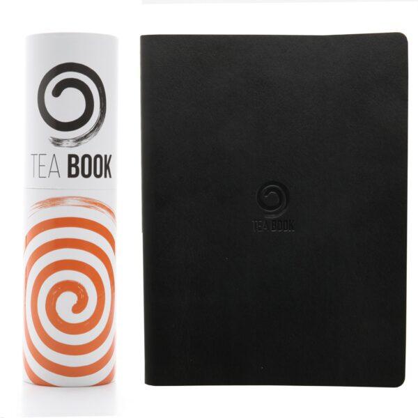 М'який блокнот Victoria's journal TEA BOOK A5,Чорний