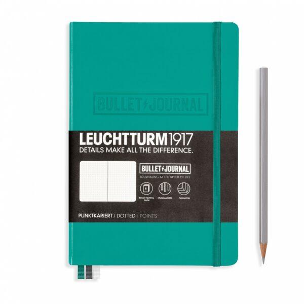 Блокнот Leuchtturm1917 Bullet Journal, смарагдовий