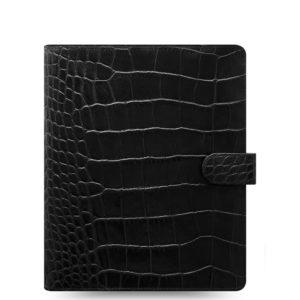 Органайзер Filofax Classic Croc A5, Ebony