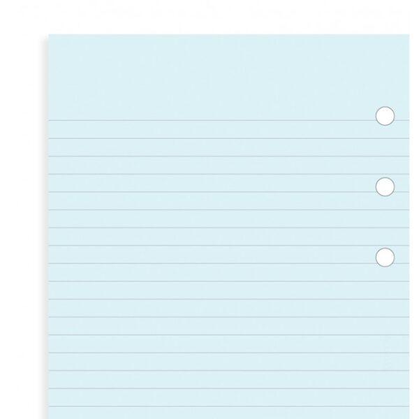 Бланки в лінію Filofax, Personal, блакитні