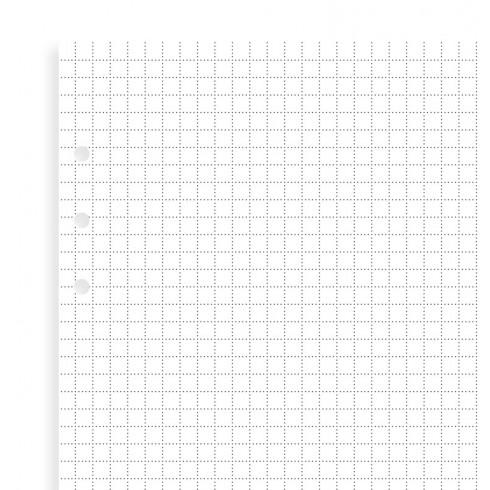 Бланки в клітинку до органайзеру Filofax, A5, (Clipbook), білі