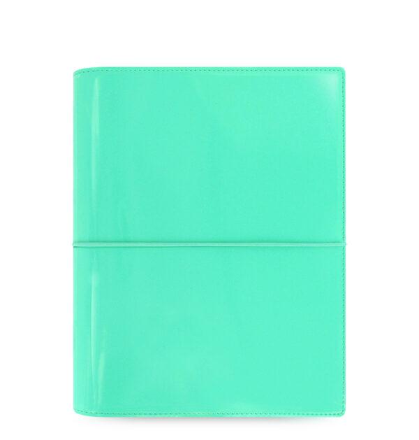 Органайзер Filofax Domino A5, Patent Turquoise