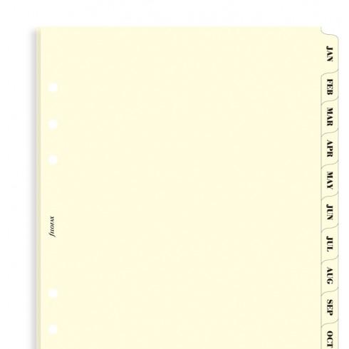 Розділювачі календарні Filofax, А5, cream