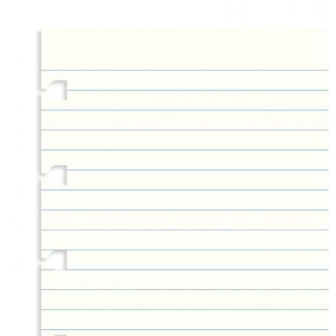 Бланки в лінію для блокноту Filofax, A5, білі