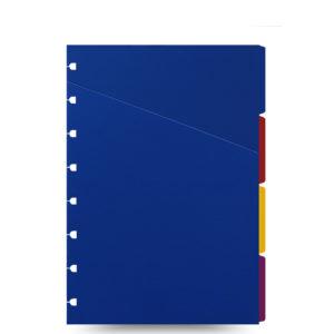 Розділювачі для блокнота Filofax, А5, Bright