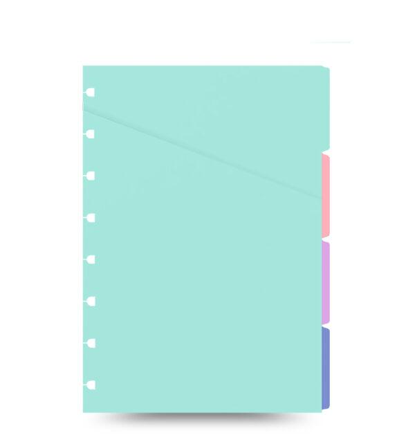 Розділювачі для блокнота Filofax A5, Pastel