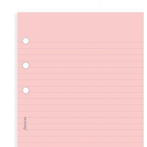 Бланки в лінію Filofax, Pocket, рожеві