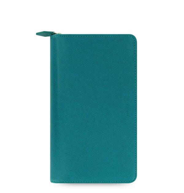 Органайзер Filofax Saffiano Compact zip, Aquamarine