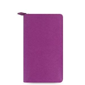 Органайзер Filofax Saffiano Compact zip, Raspberry