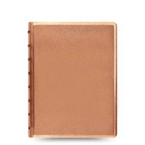 filofax-saffiano-notebook-a5-rose-gold-front