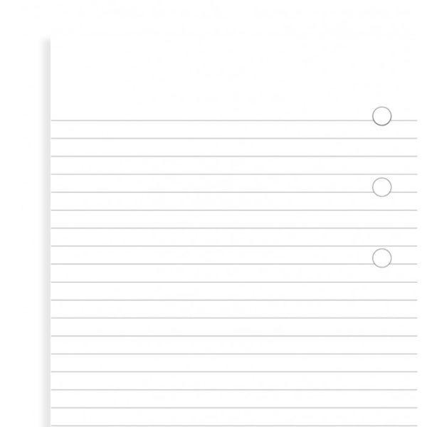 Бланки в лінію Filofax, Personal, білі