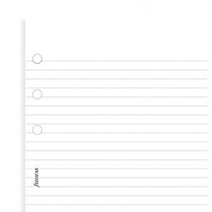 Бланки в лінію Filofax, Pocket, білі