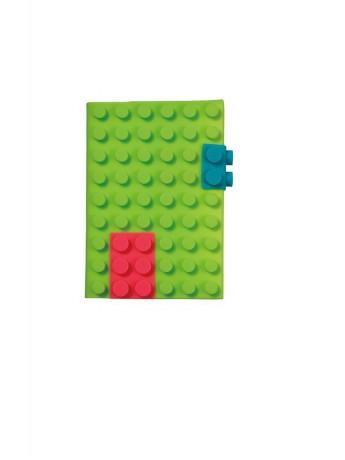 Блокнот Mark's Silicon A6, Зелений
