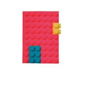 Блокнот Mark's Silicon A6, Неон-рожевий