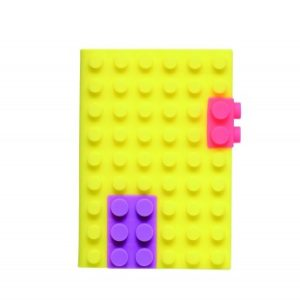 Блокнот Mark's Silicon A6, Неон-жовтий