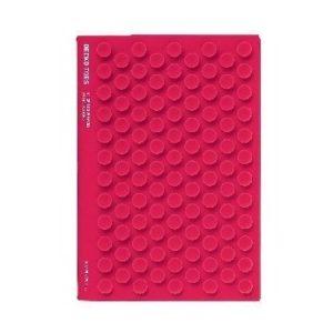 Блокнот Mark's Silicon Gecko A6, Рожевий