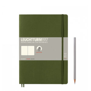 Блокнот Leuchtturm1917 Composition (B5), хакі, чисті аркуші