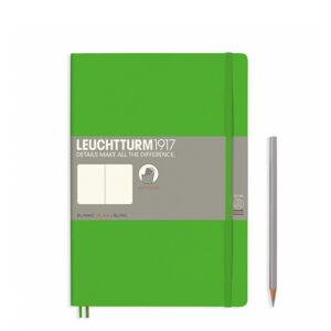 Блокнот Leuchtturm1917 Composition (B5), свіжий зелений, чисті аркуші