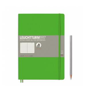 Блокнот Leuchtturm1917 Composition (B5), свіжий зелений, лінія