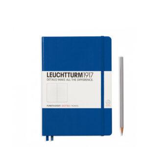 Блокнот Leuchtturm1917 середній, королівський синій, крапка
