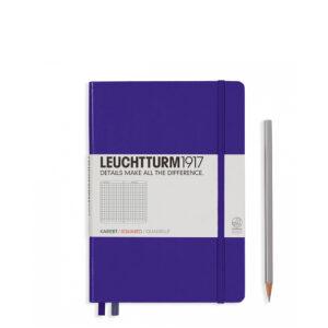 Блокнот Leuchtturm1917 середній, пурпурний, клітинка
