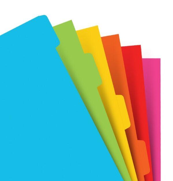 Розділювачі універсальні Filofax, А5, bright