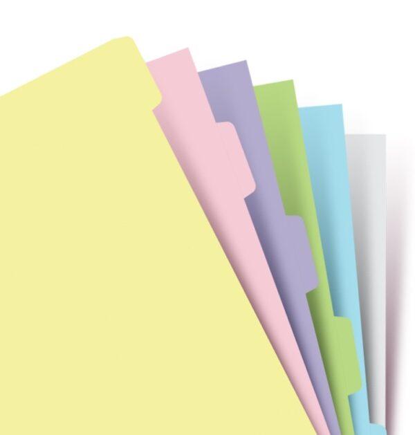 Розділювачі універсальні Filofax, А5, pastel