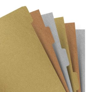 Розділювачі універсальні Filofax, А5, metallic