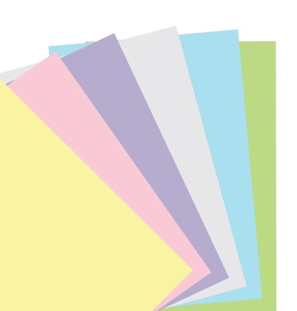 Бланки без лініювання до органайзеру Filofax, A5, pastel