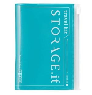 Обкладинка для паспорта STORAGE.it New Passport Case, Бірюзовий