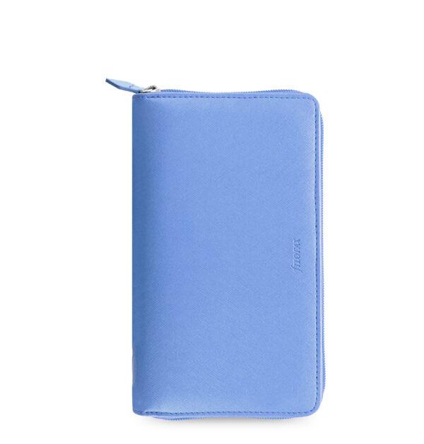 Органайзер Filofax Saffiano Compact zip, Vista blue