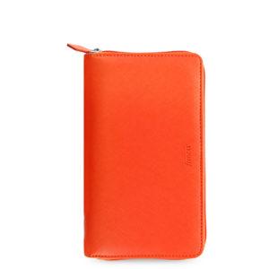 Органайзер Filofax Saffiano Compact zip, Bright orange