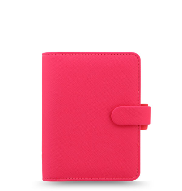 Органайзер Filofax Saffiano Pocket, Fluoro Pink