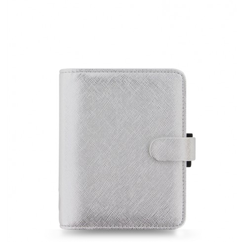 Органайзер Filofax Saffiano Pocket, Metallic Silver