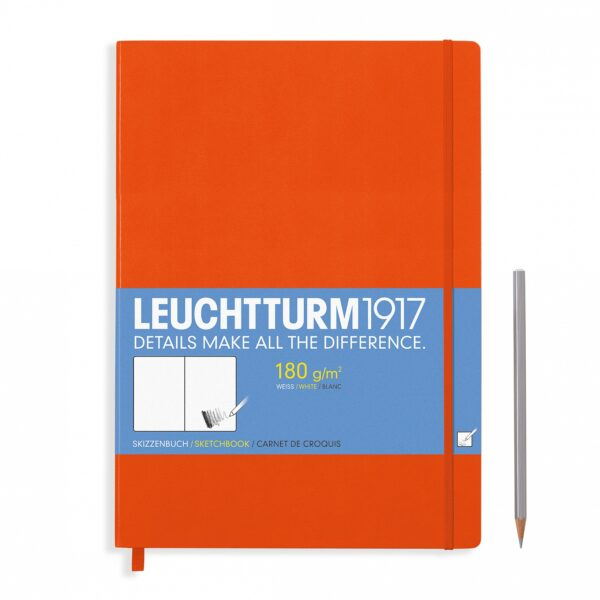 Скетч-бук Leuchtturm1917 Master (A4+), помаранчевий