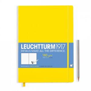 Скетч-бук Leuchtturm1917 Master (A4+), лимонний