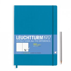 Скетч-бук Leuchtturm1917 Master (A4+), лазурний
