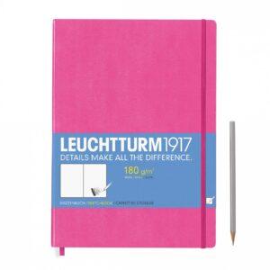 Скетч-бук Leuchtturm1917 Master (A4+), новий рожевий
