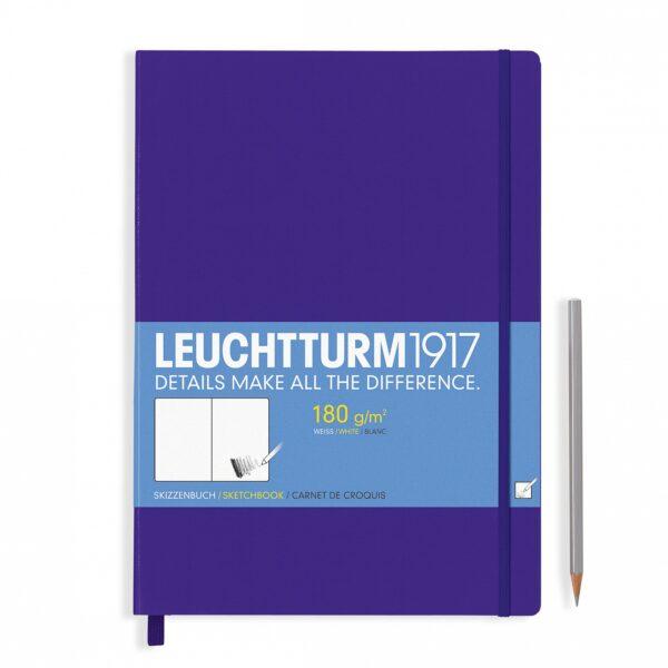 Скетч-бук Leuchtturm1917 Master (A4+), пурпурний