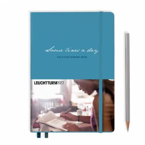 some-lines-a-day-5-year-memory-book-medium-a5-nordic-blue