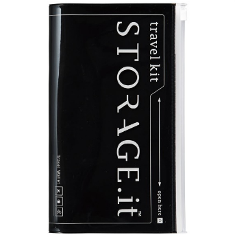 Тревелкейс STORAGE.it New Travel Wallet, Чорний