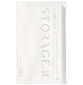 Тревелкейс STORAGE.it New Travel Wallet, Білий