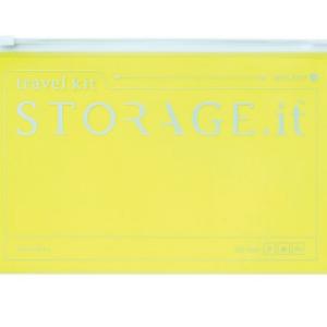 Кейс на блискавці STORAGE.it New Zip Case, Неон-жовтий
