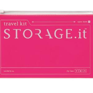 Кейс на блискавці STORAGE.it New Zip Case, Неон-рожевий